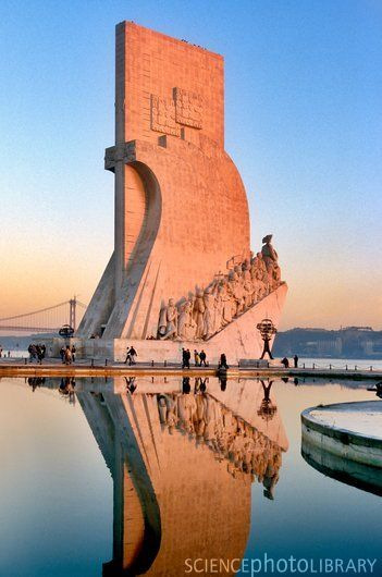 """Monument to the Discoveries, Lisbon - You can up there and have an awsome view from Lisbon and """"Tejo"""" river.It´s on the same avenue,very close to Belém tower,across from Jerônimos monastery."""