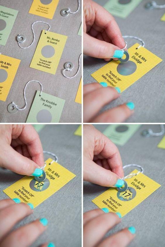 2 0 2 0 0 72 Le marque-place est une façon d'apporter votre touche personnelle dans votre déco de mariage ou de fête. Que vous ayez choisi un mariage champêtre,…