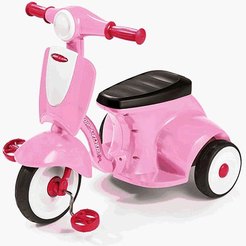 Radio+Flyer+Classic+Lights+and+Sound+Trike+in+Pink