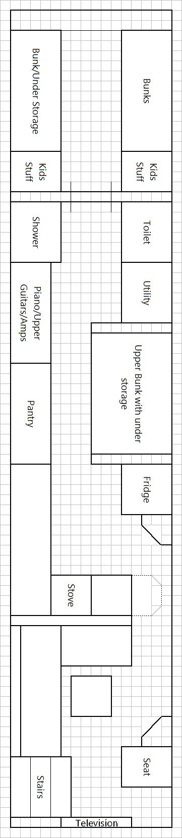 Skoolie Floor Plan Skoolie Pinterest Initials Buses and