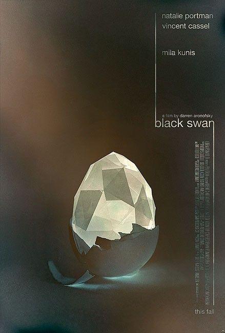 Mais um poster sensacional de Tomasz Opasinski sobre o filme Cisne Negro.