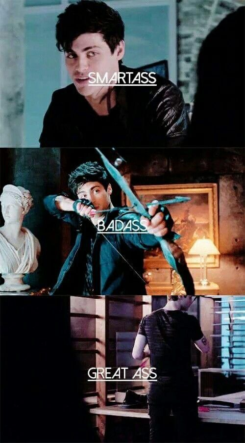 Alec Lightwood...Matthew Daddario is life