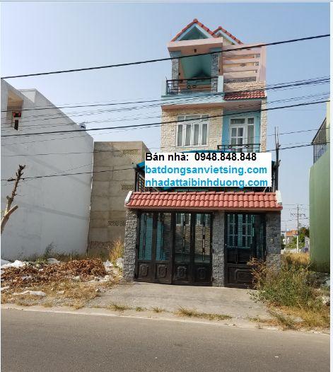 Cần bán 2 căn nhà mặt tiền và 2 dãy nhà trọ KDC Việt Sing Vsip 1