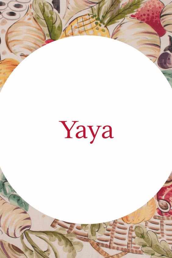 Yaya - Our Favorite Southern Grandma Names - Southernliving. null