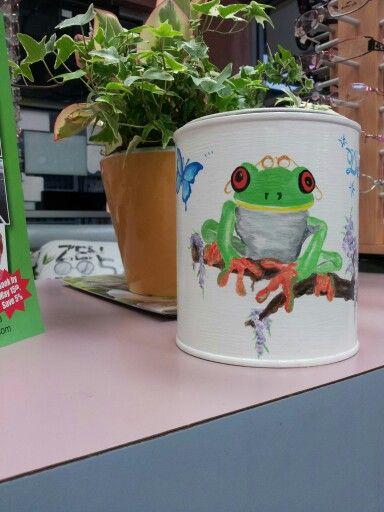 Frogs love the rain