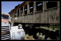 """""""Missed the Train"""" - Silver City Ghost Town, Nevada, Photo by Steve Bingham"""