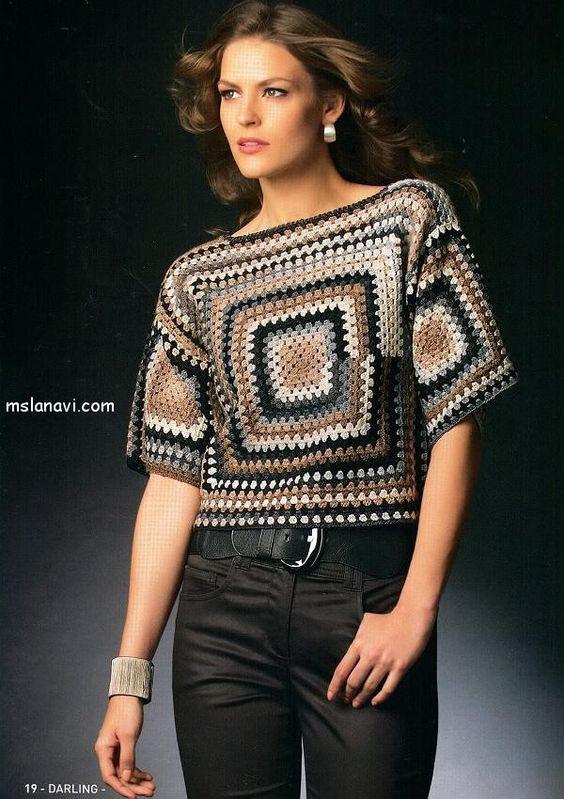 вязание крючком платья:
