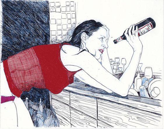 Hope Gangloff: Pintura de esquemas juveniles « Cultura Colectiva