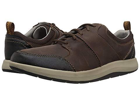 Clarks, Leather, Leather sneakers