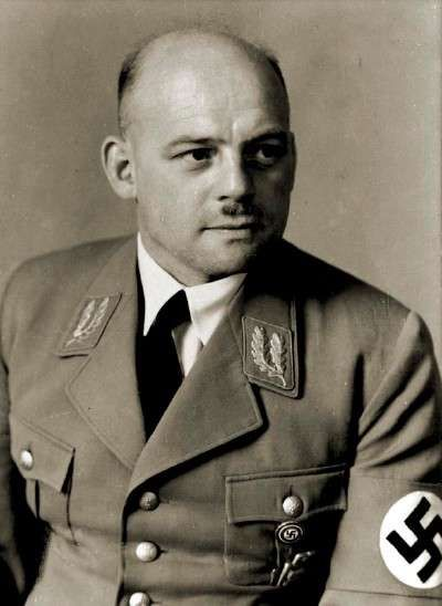 Reichsstatthalter von Thuringia, Gauleiter (Governor) von Thuringia und Generalbevollmächtigter für den Arbeitseinsatz im Reich Fritz Sauckel