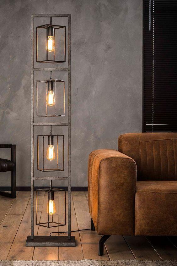 Floor Lamp Kube Wohnaura Lampen Design Set Up Inneneinrichtung Basichomedecor Diybedroomdecor Diyhomedecorlight In 2020 Bed Back Design Decor Home Decor