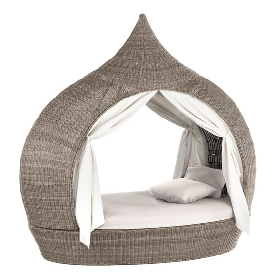 Tipi Cocoon Chair Large Taupe - benedomi