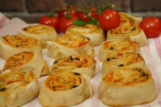 Recette facile des Pizza Rolls pour l'apéritif