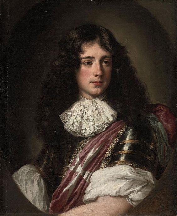 Portrait of Philippe de Bourbon, Duke of Vendôme (1655-1727)  Unknown date, oil on canvas by Jacob Ferdinand Voet (1639–1689):