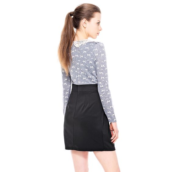 Gray SlimFit LongSleeves Dress http://everyFashion.storenvy.com