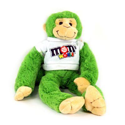 M&M Plush Monkey
