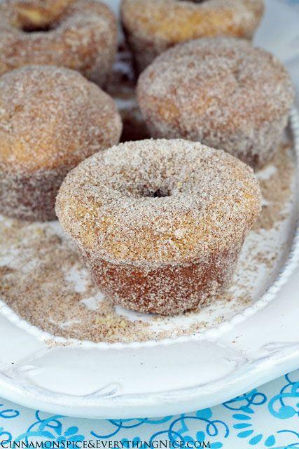 Cinnamon Sugar Doughnut Muffins | Recipe | Doughnut muffins, Muffins ...