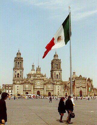 The Zócalo - México City                                                       …