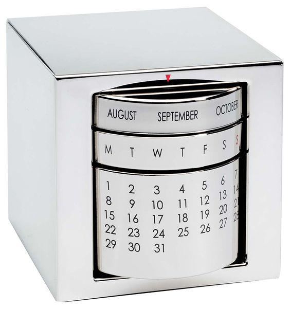 Chrome perpetual calendar
