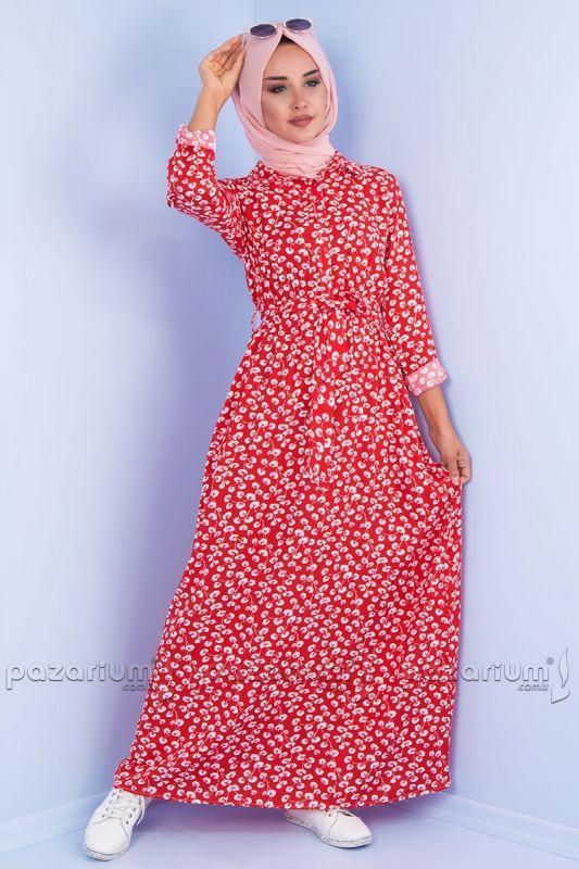 Pazarium Com Tr Adli Kullanicinin En Trend Yaz Elbiseleri Panosundaki Pin Elbise Cicekli Elbise Giyim