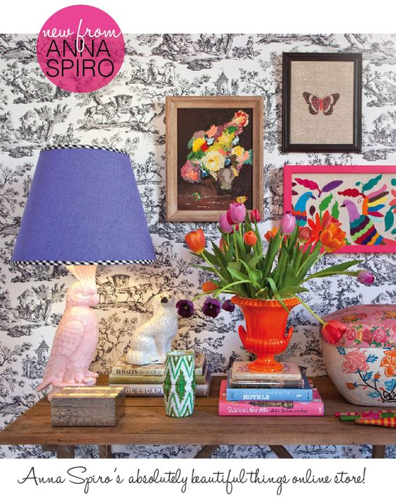 I love Anna Spiro's style and use of vibrant colours