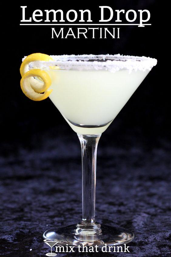 Lemon drop martini, Lemon drops and Martinis on Pinterest