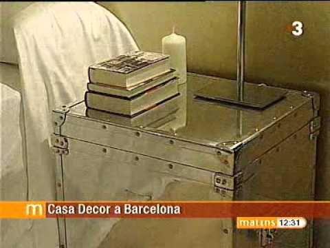 Proyecto de Barasona Diseño y Comunicacion en Casa Decor Barcelona. Els Matins de TV3