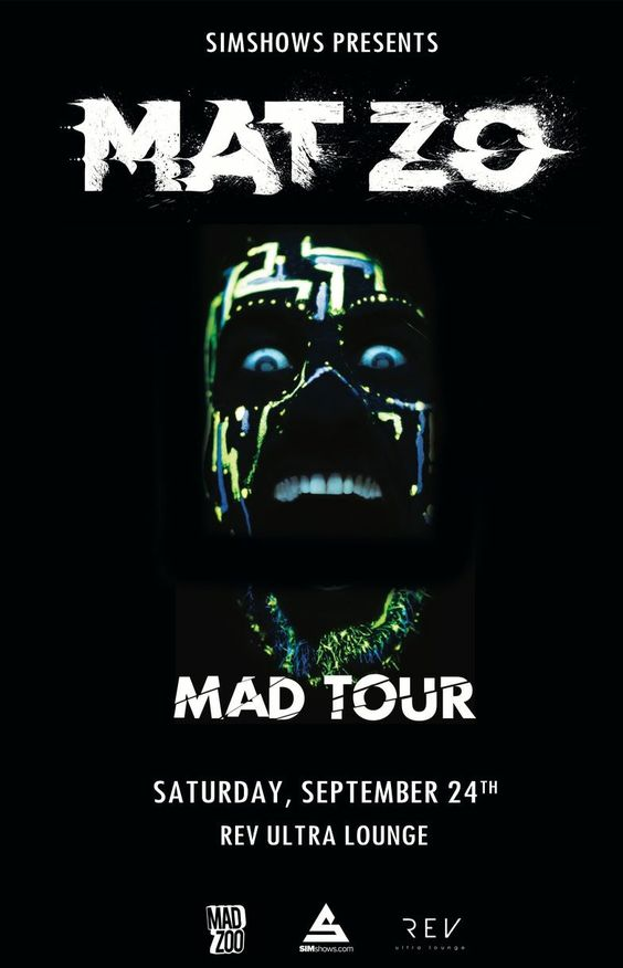Wanna get close and personal with Mat Zo?!?
