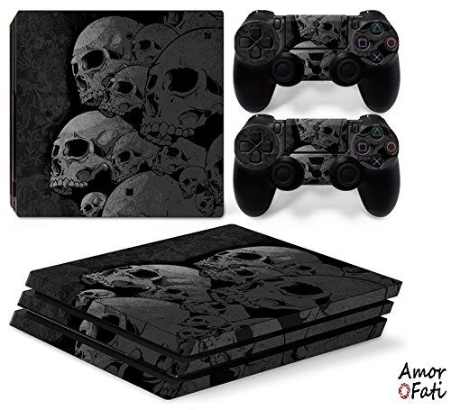 Amorfati Ps4 Pro Playstation 4 Pro Console Skin Decal Sticker Skulls 2 Controller Skins Set See This Fantastic Item Ps4 Pro Playstation 4 Christmas Memes