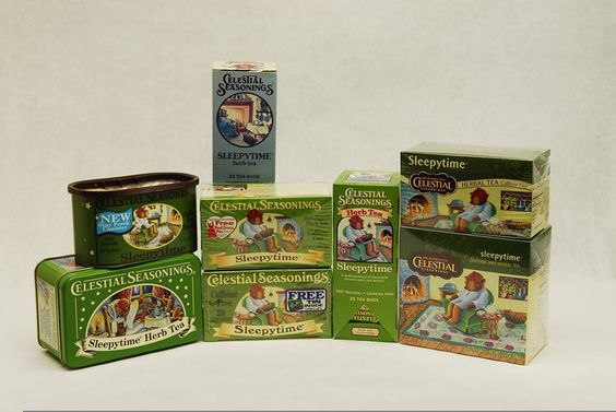 #ThrowbackThursday: The evolution of the Sleepytime Herbal Tea artwork!