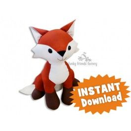 Fifi Fox INSTANT DOWNLOAD Sewing Pattern PDF | Funky ...