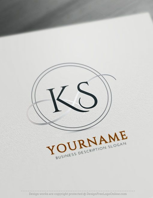 Create Letter Logo With The Best Alphabet Logo Maker Initials Logo Design Logo Maker Monogram Maker