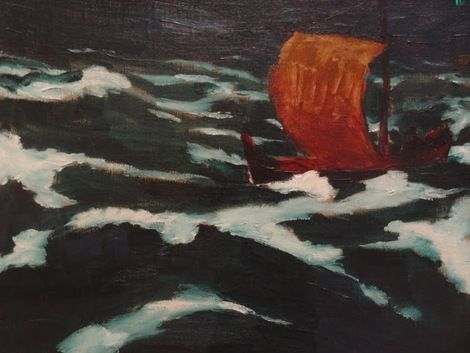 Emil Nolde, Emil Nolde The Sea I 1912 on ArtStack #emil-nolde #art