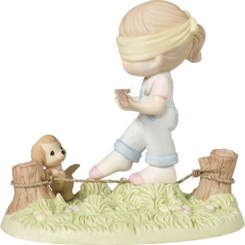 Precious Moments I Did It Graduation Girl With Teddy Bear Bisque Porcelain Home Decor Collectible Figurine 173014