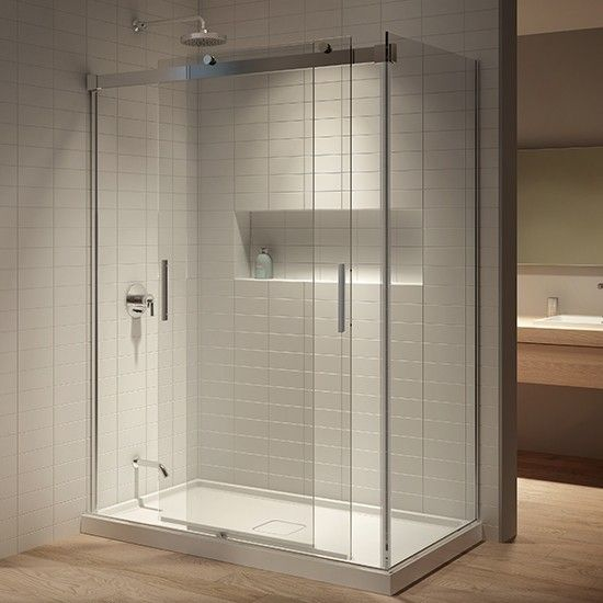 Kalia Akcess Corner Shower Enclosure 60 X 36 X 77 Display