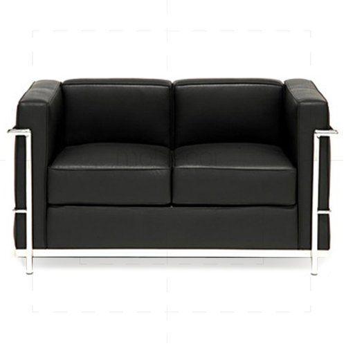 Hochtones Schwarzes Ledersofa Stil Decordiyhome Com Decor Interior Sofa