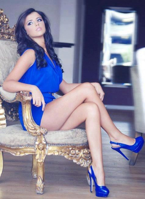 High heels babe