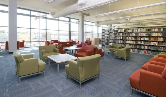 Community College Library modular