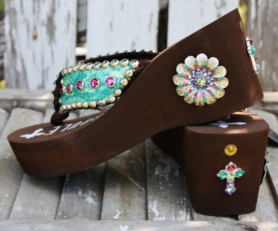 Gypsy Soule Jasmin Flip Flops  www.gugonline.com