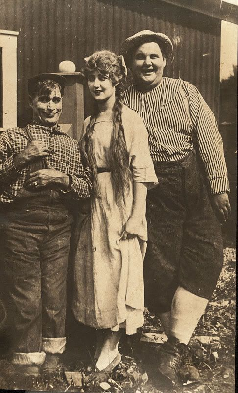 Billy Ruge, Rae Godfrey and Babe Hardy.