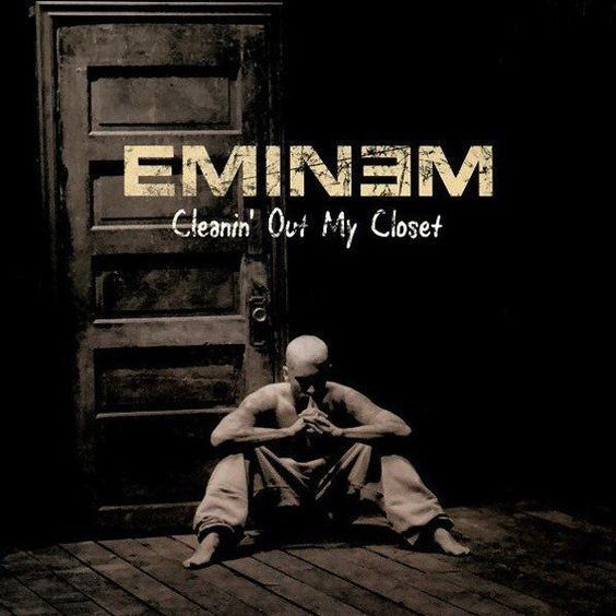 Eminem – Cleanin' Out My Closet (single cover art)