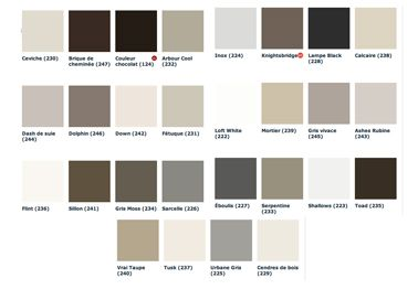 peinture grise 28 nuances de gris pour les murs recherche taupe et d co. Black Bedroom Furniture Sets. Home Design Ideas