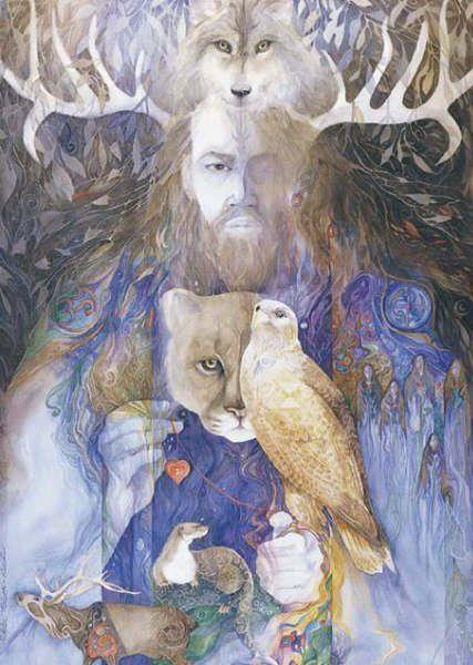 El Dios padre, señor de hombres y animales.: