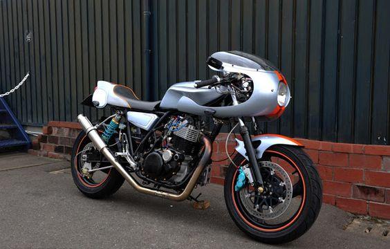 Yamaha SR540 By Dell-Sara