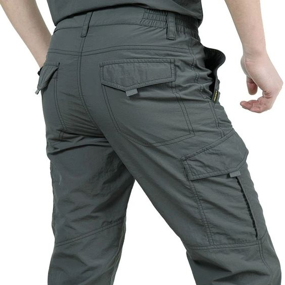 Men's Lightweight Waterproof Quick Dry Army Military Tactical Cargo Pants | eBay