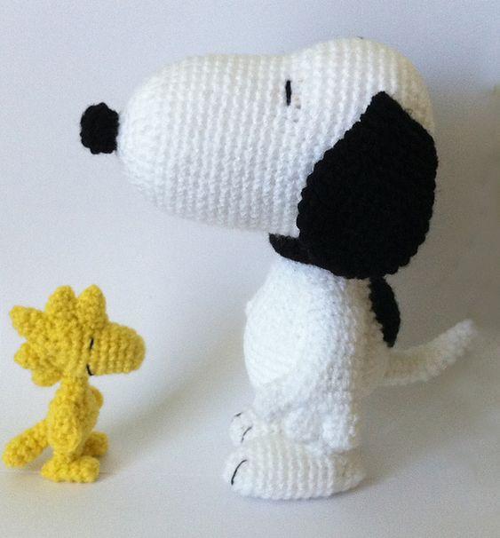 Amigurumi Tutorial Snoopy : Snoopy amigurumi and patterns on pinterest