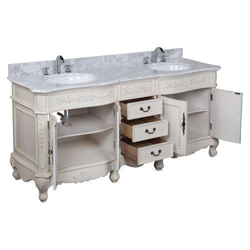 "Found it at Wayfair - Versailles 72"" Double Bathroom Vanity Set"