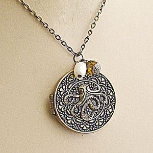 Octopus Locket now featured on Fab.