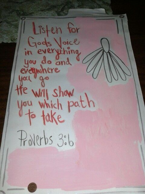 Proverbs 3:6   http://www.myjourneyback-thejouneyback.blogspot.com: