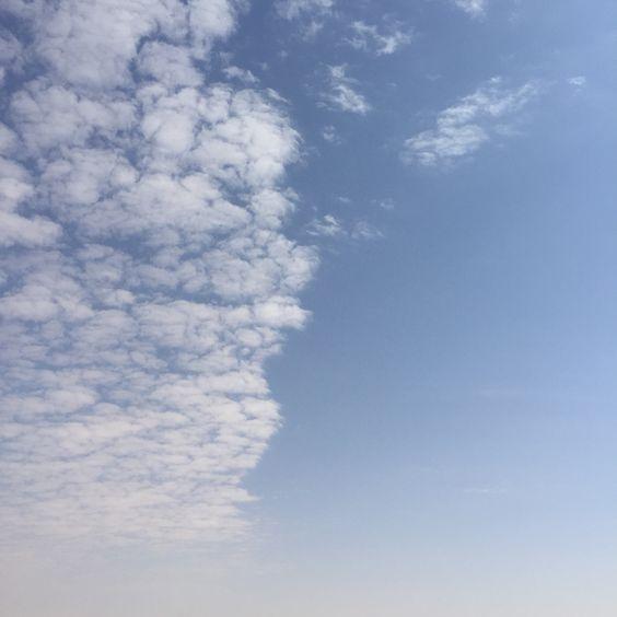Half sky in Saudi
